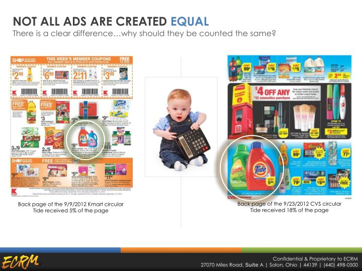 NOT ALL ADS ARE CREATED