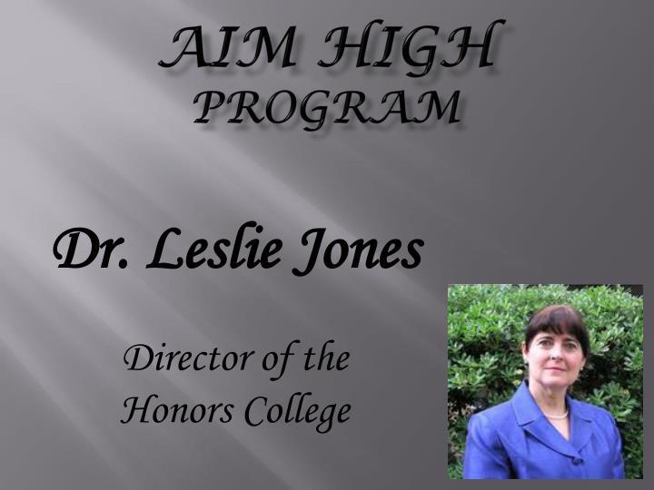Aim high program1