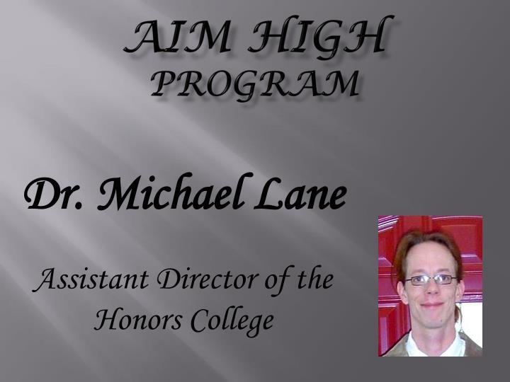 Aim high program2