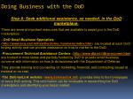 doing business with the dod6