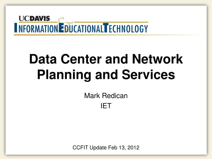 data center and network planning and services n.