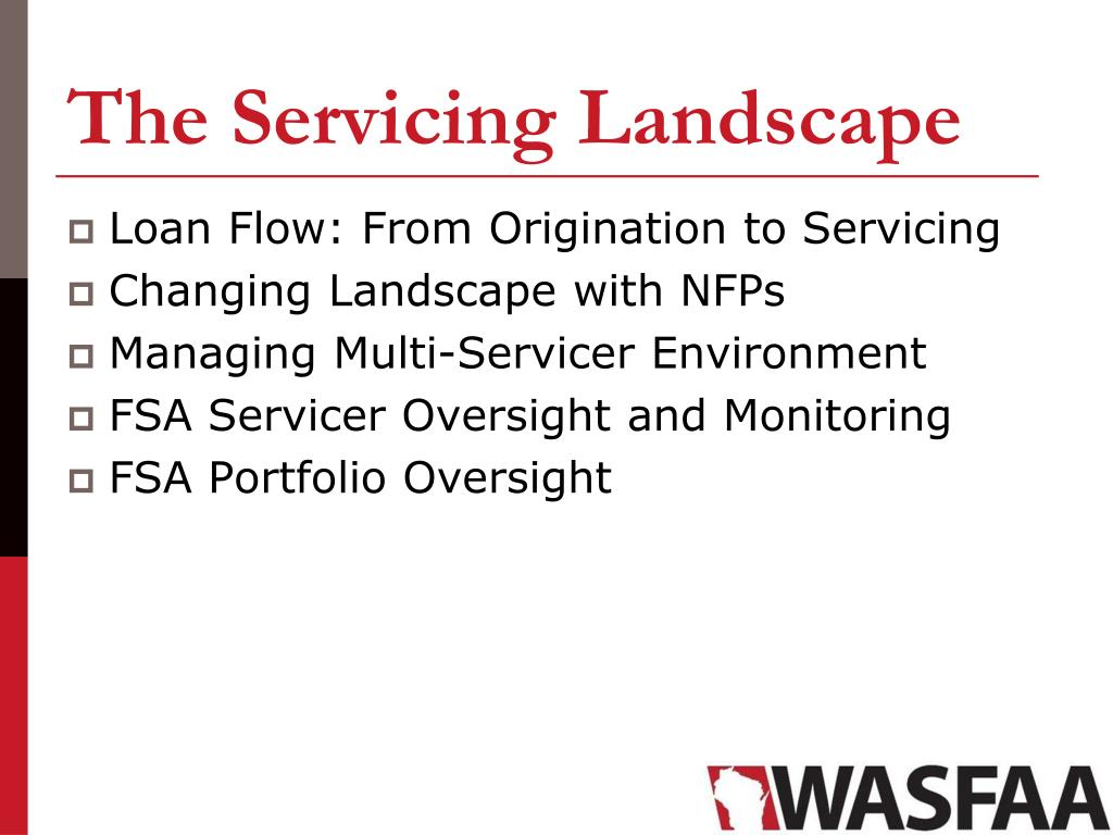 PPT - Federal Loan Servicing Update and Panel PowerPoint Presentation, free download - ID:1692073