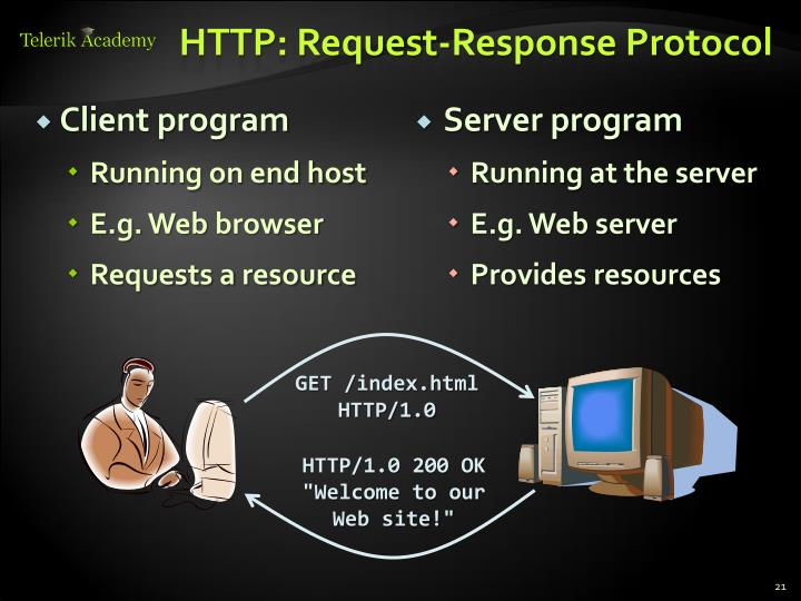 HTTP: Request-Response Protocol