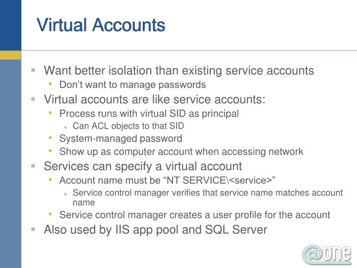 Virtual Accounts