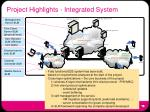project highlights integrated system