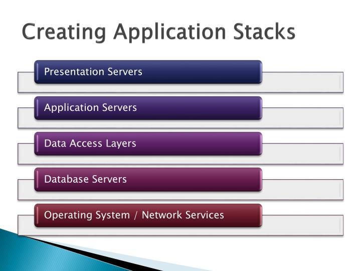 Creating Application Stacks