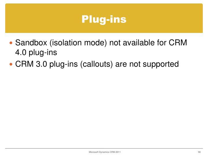 Plug-ins