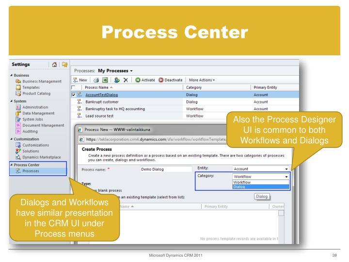 Process Center