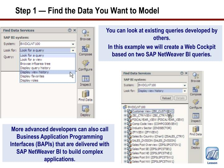 Step 1 — Find the Data You Want to Model