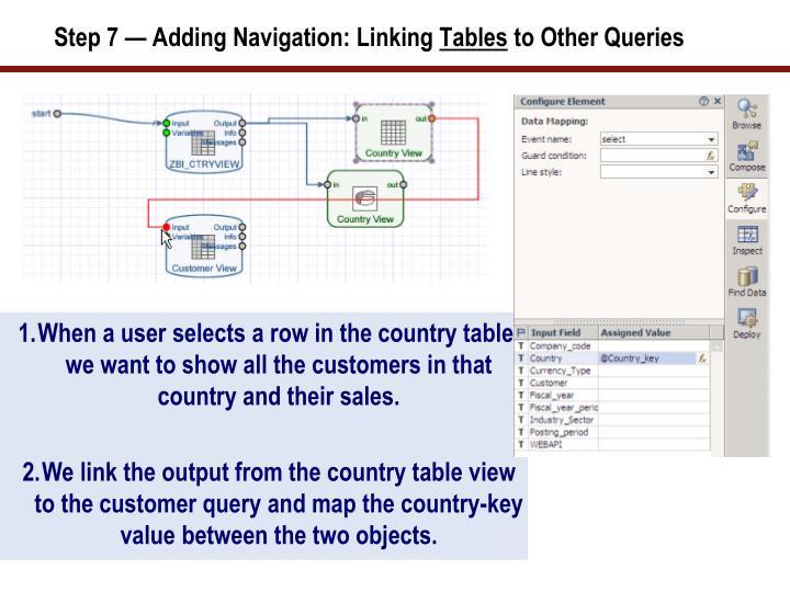 Step 7 — Adding Navigation: Linking