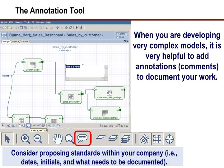 The Annotation Tool