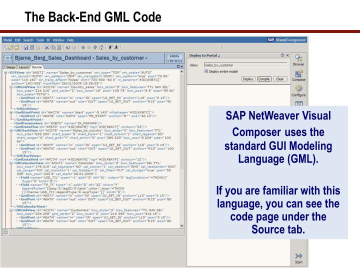 The Back-End GML Code