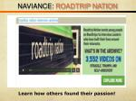 naviance roadtrip nation