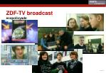 zdf tv broadcast ecopolicyade