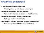 virtual client os extension