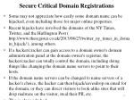 secure critical domain registrations