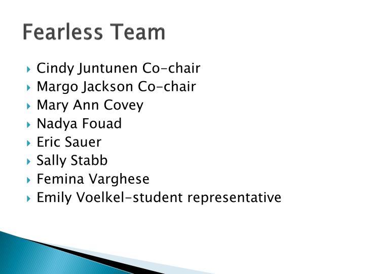 Fearless Team