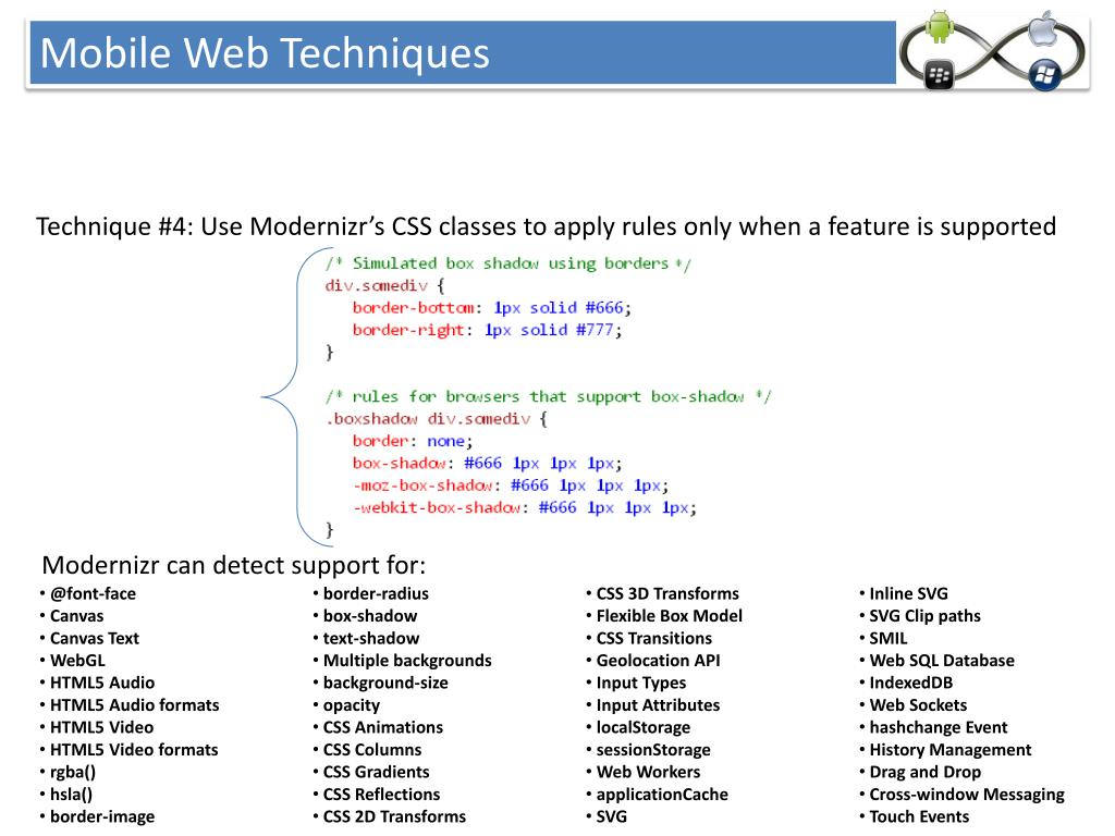 PPT - UCSB Web Standards Guide Brown Bag Series Mobile Web