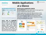 mobile applications at a glance2