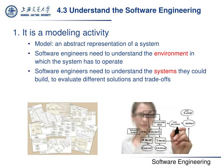 4.3 Understand the Software Engineering