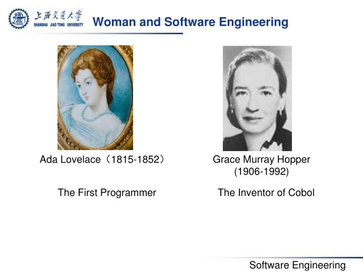 Woman and Software