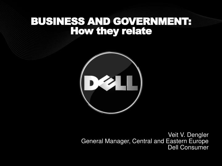 business and government how they relate