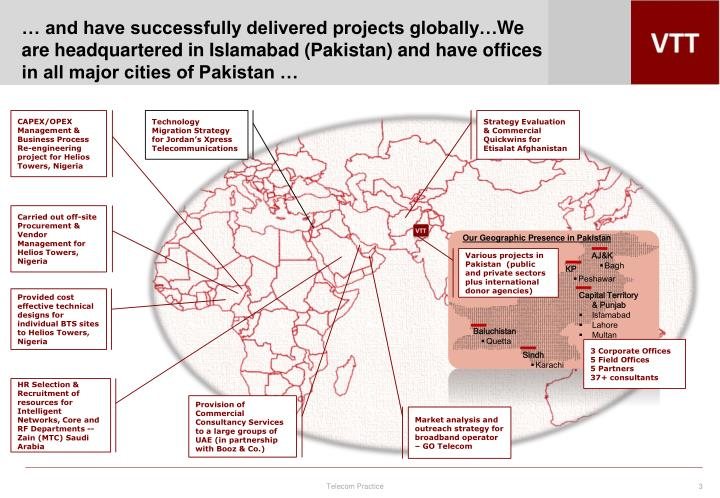 … and have successfully delivered projects globally…