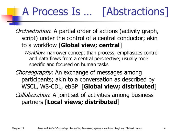 A Process Is …   [Abstractions]