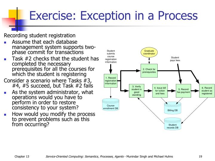 Exercise: Exception in a Process