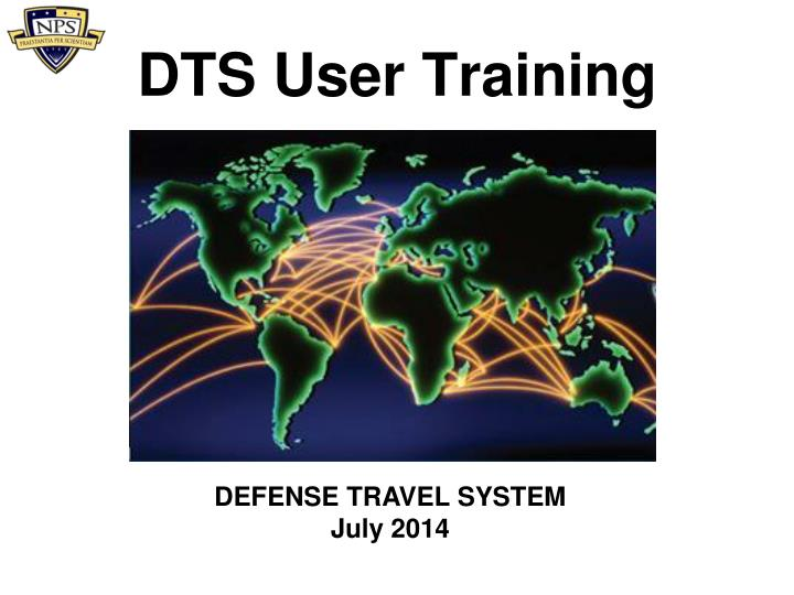 Dts user training