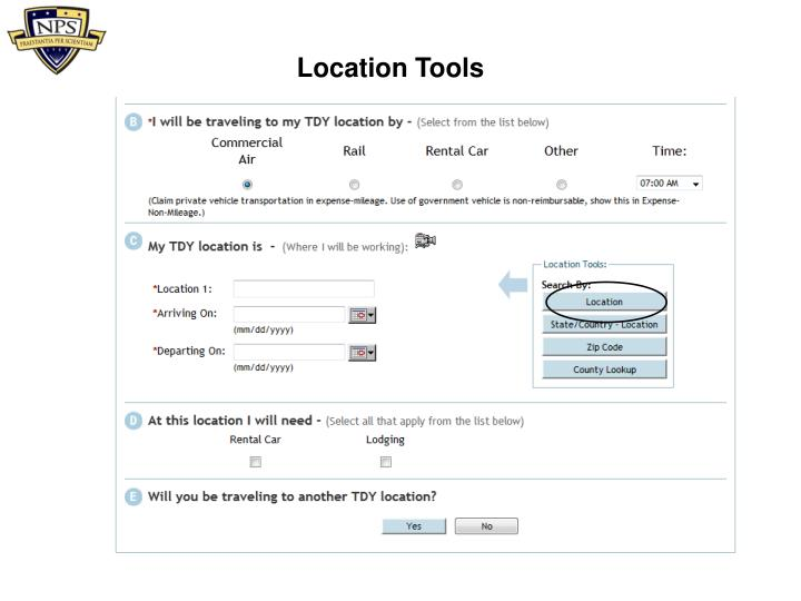 Location Tools