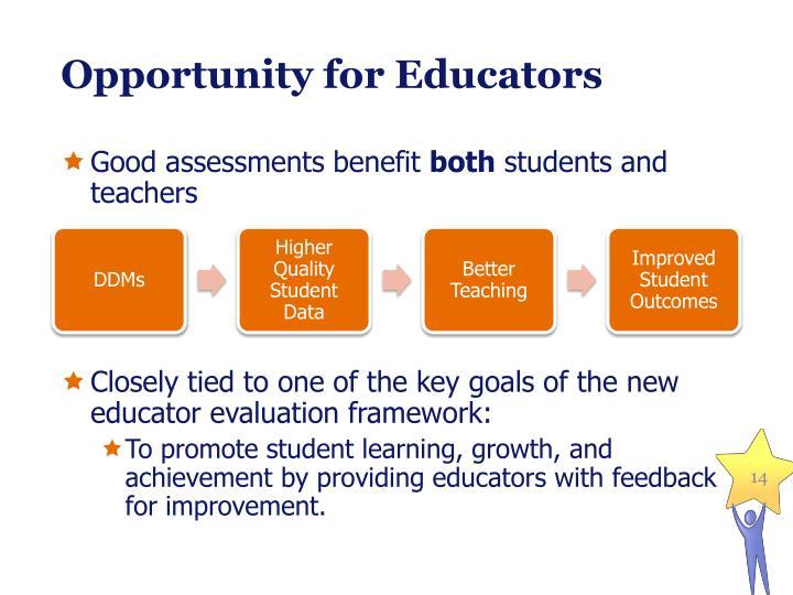 Opportunity for Educators