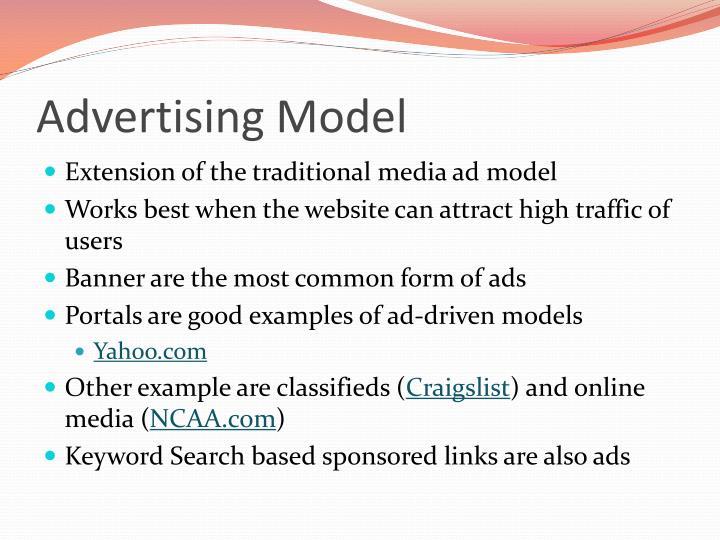 Advertising Model