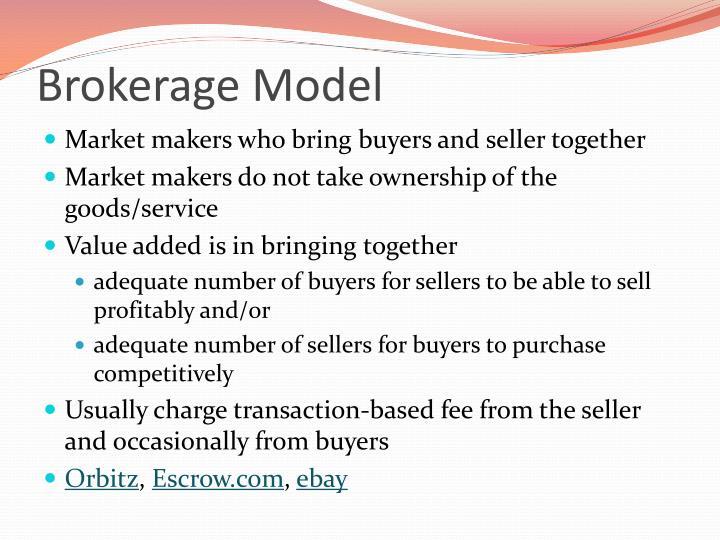 Brokerage Model