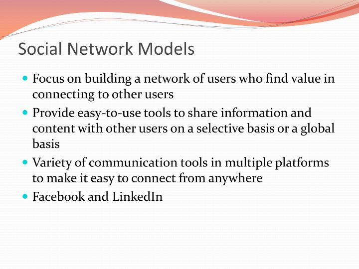 Social Network Models