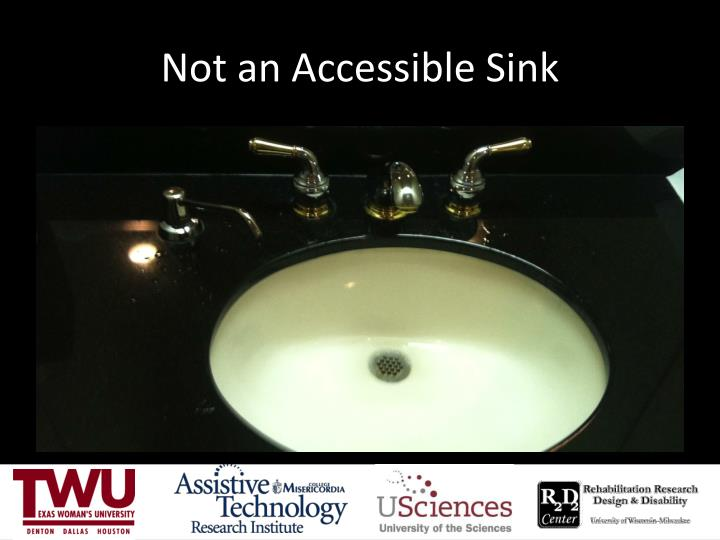 Not an Accessible Sink