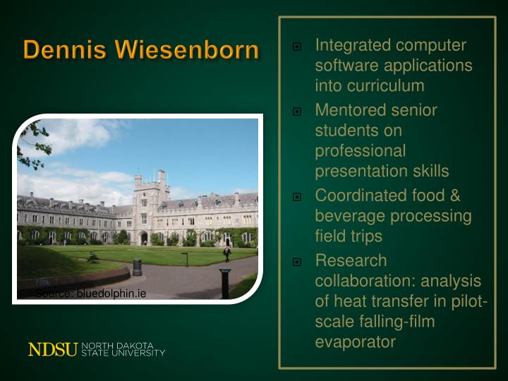 Integrated computer software applications into curriculum
