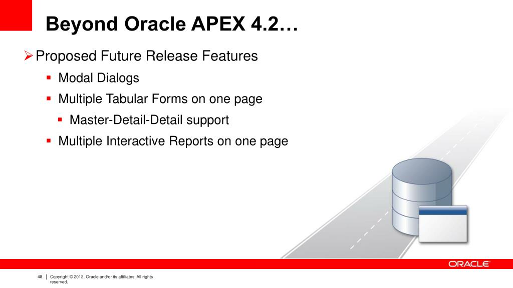 PPT - Oracle Application Express 4 2 Anthony Rayner, Product