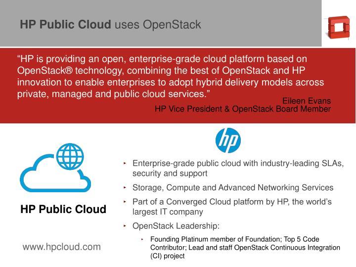 HP Public Cloud