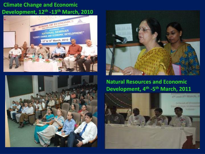 Climate Change and Economic     Development, 12