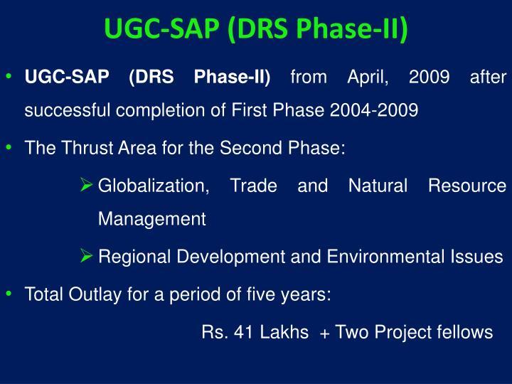 UGC-SAP (DRS Phase-II)