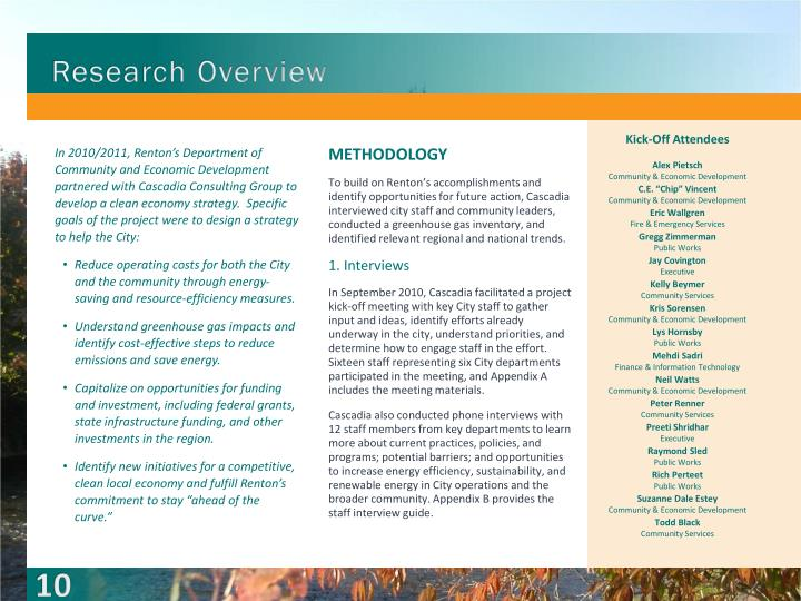 Research Overview
