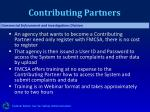 contributing partners