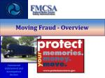 moving fraud overview