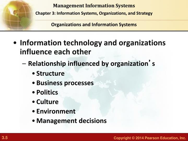 influence of information systems essay The objective of a semantics weapon is to destroy the trust the user places in the information systems and its supporting network, as well as to influence the interpretation of the information that flows in them.