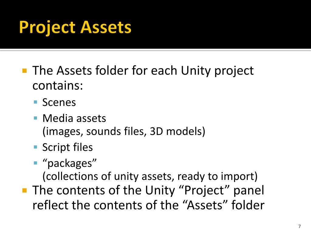 PPT - Introduction to Unity PowerPoint Presentation - ID:1694023