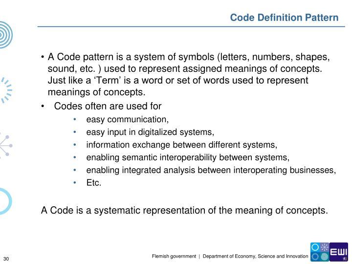 Code Definition