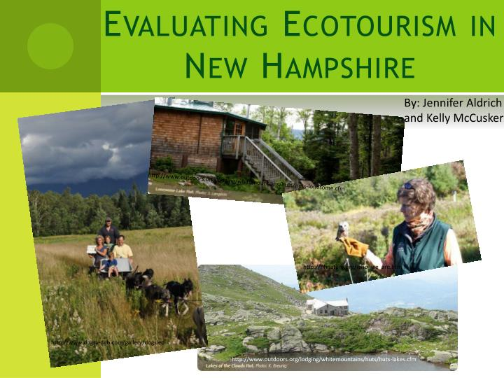 evaluating ecotourism in new hampshire n.