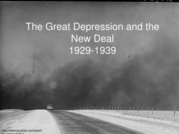the great depression and the new deal 1929 1939 n.