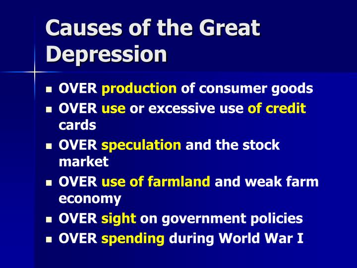 how did the great depression weaken Why did the depression last so long a major cause of the pro-longed great depression was unemployment, which was largely due to the government and the market the government's resolution was a deflationary policy of balance budgets.